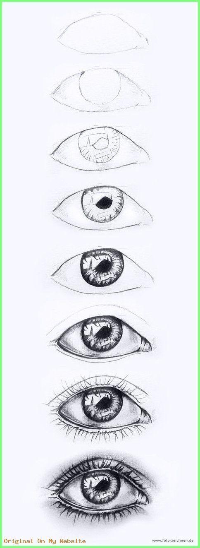 kunst zeichnungen  augen zeichnen  schritt für schritt