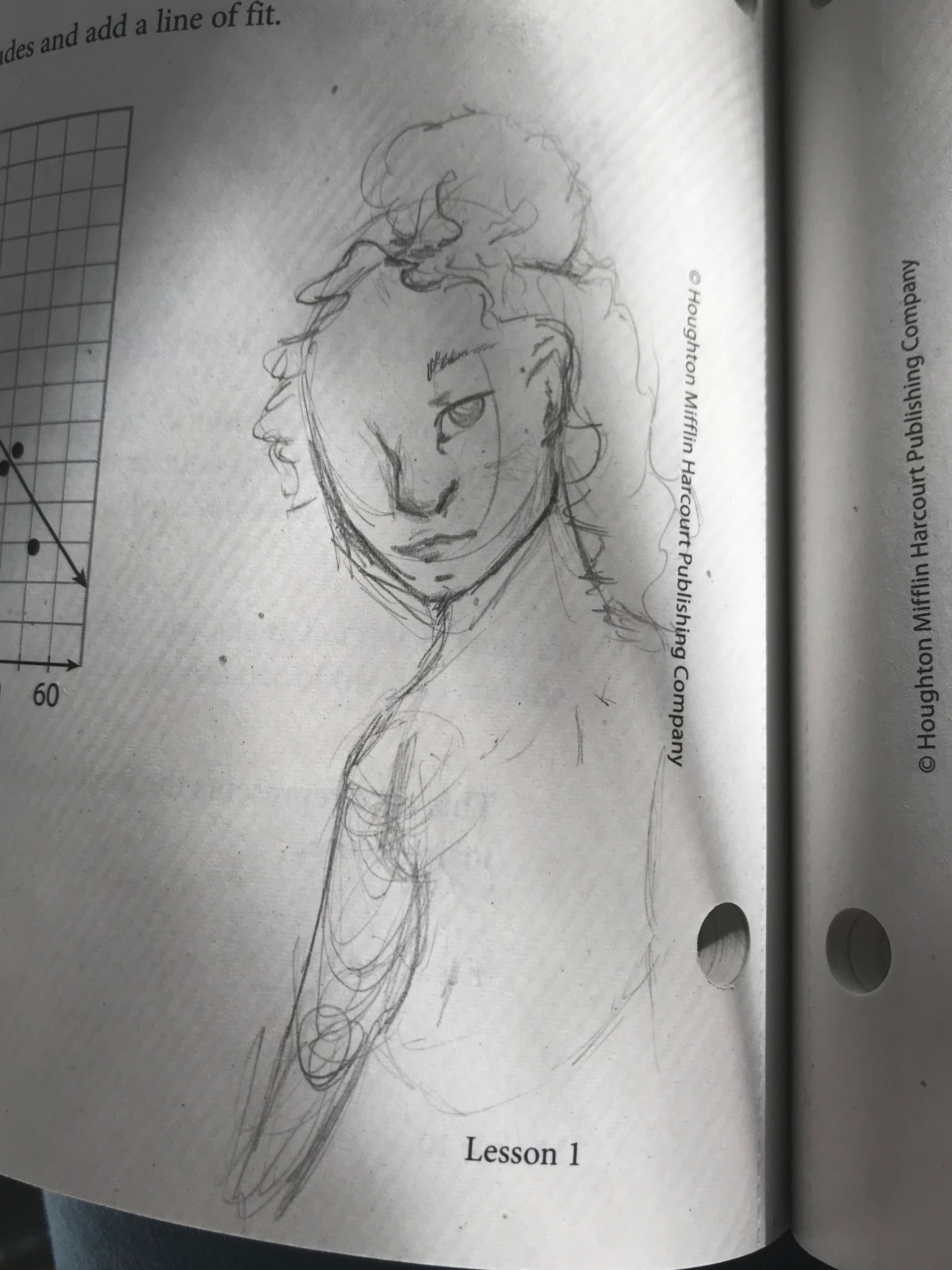 Doodle In Math Class Today So While I Was Gone Started Doodling Humans Idk Please Give Me Constructive Criticism Art By Orange Sherbert