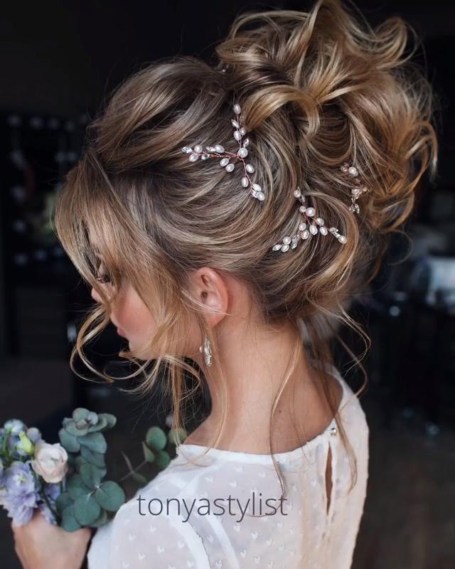 Photo of Tonyastylist Long Wedding Hairstyles and Updos -DIY Tutorial
