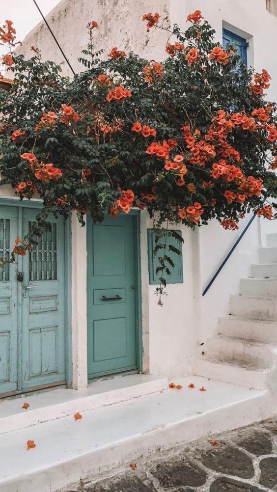 Photo of 62 EINZIGARTIGE COURTYARD DOORWAY FLOWERS DEKORATION – Seite 46 von 62 – New Ide…