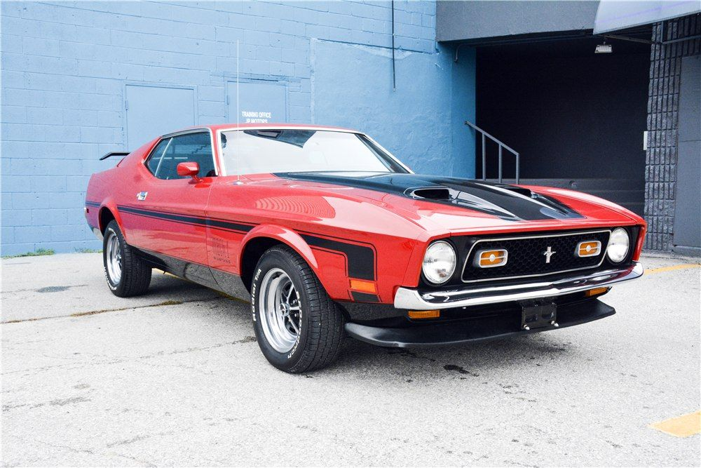 1972 Ford Mustang Mach 1 Mustang Ford Mustang American Muscle Cars Chevy