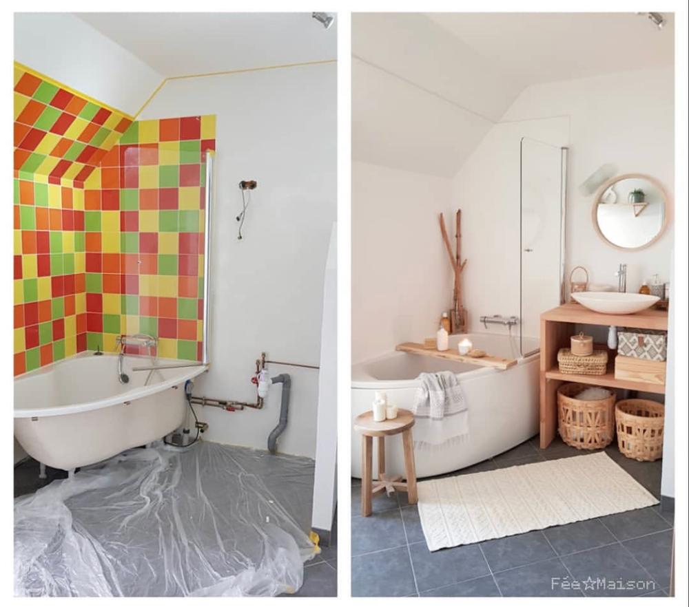 35++ Deco salle de bain avant apres inspirations