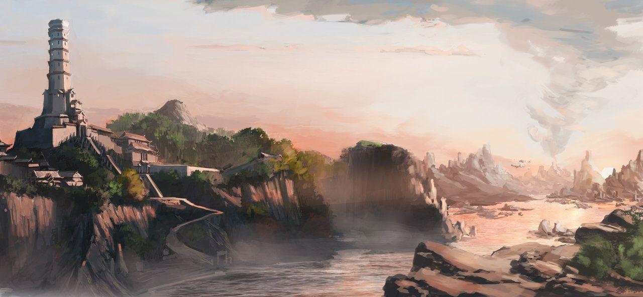 Air Temple Island by danieldupre on DeviantArt | Legend of korra, The last  airbender, Avatar aang