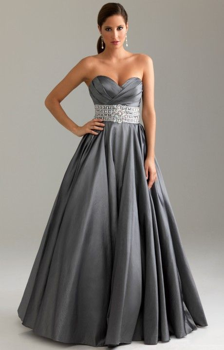 1ae242af078 Night Moves 6416 is the perfect Ball Gown look for Prom or a Military Ball!  Feel like you re going on the Red Carpet in this amazing satin blend Ball  Gown ...