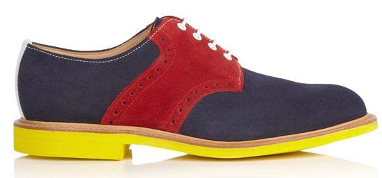 Marc McNairy multicoloured shoe, My Wardrobe