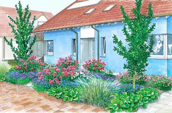 Vorgarten im Doppel-Pack   Schöne gärten, Vorgärten und Gärten
