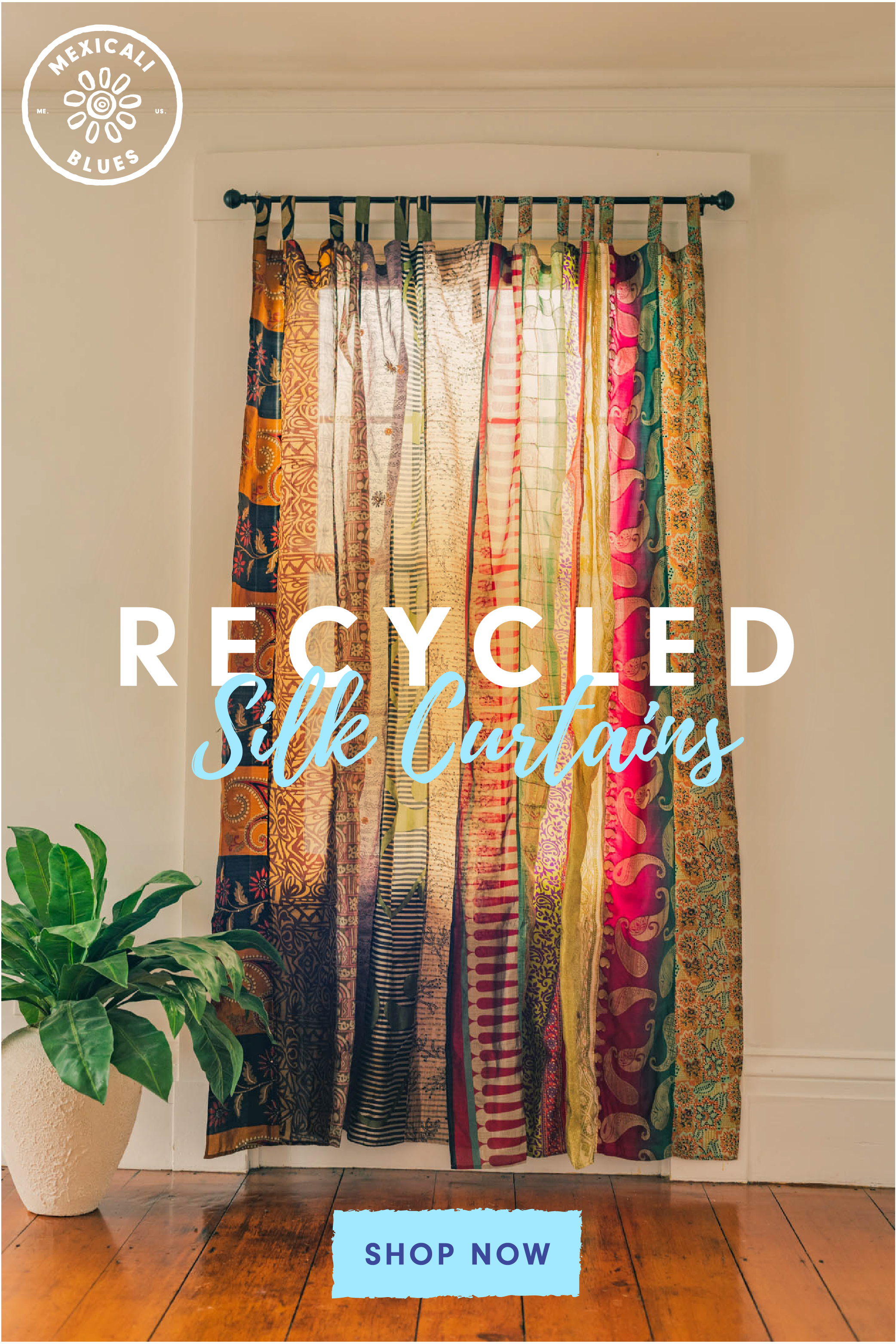 Recycled Silk Panel Curtain In 2020 Boho Decor Bohemian Decor