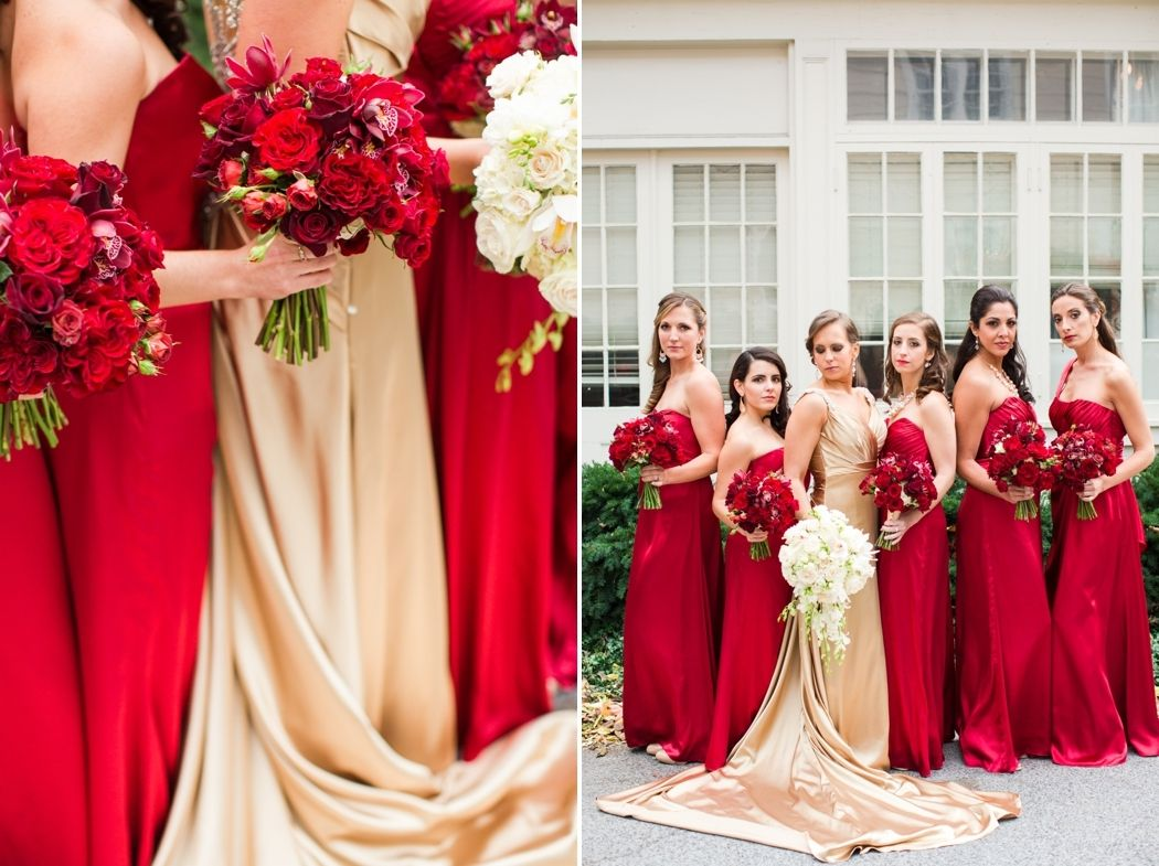 red and cream bridesmaid dresses top 300 red bridesmaid