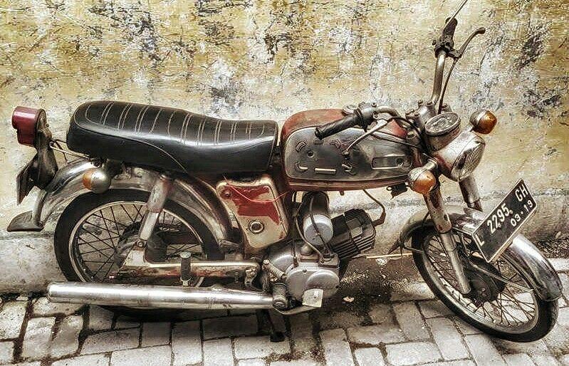 Yamaha L2 1968 With Images Old Bikes Yamaha Bike