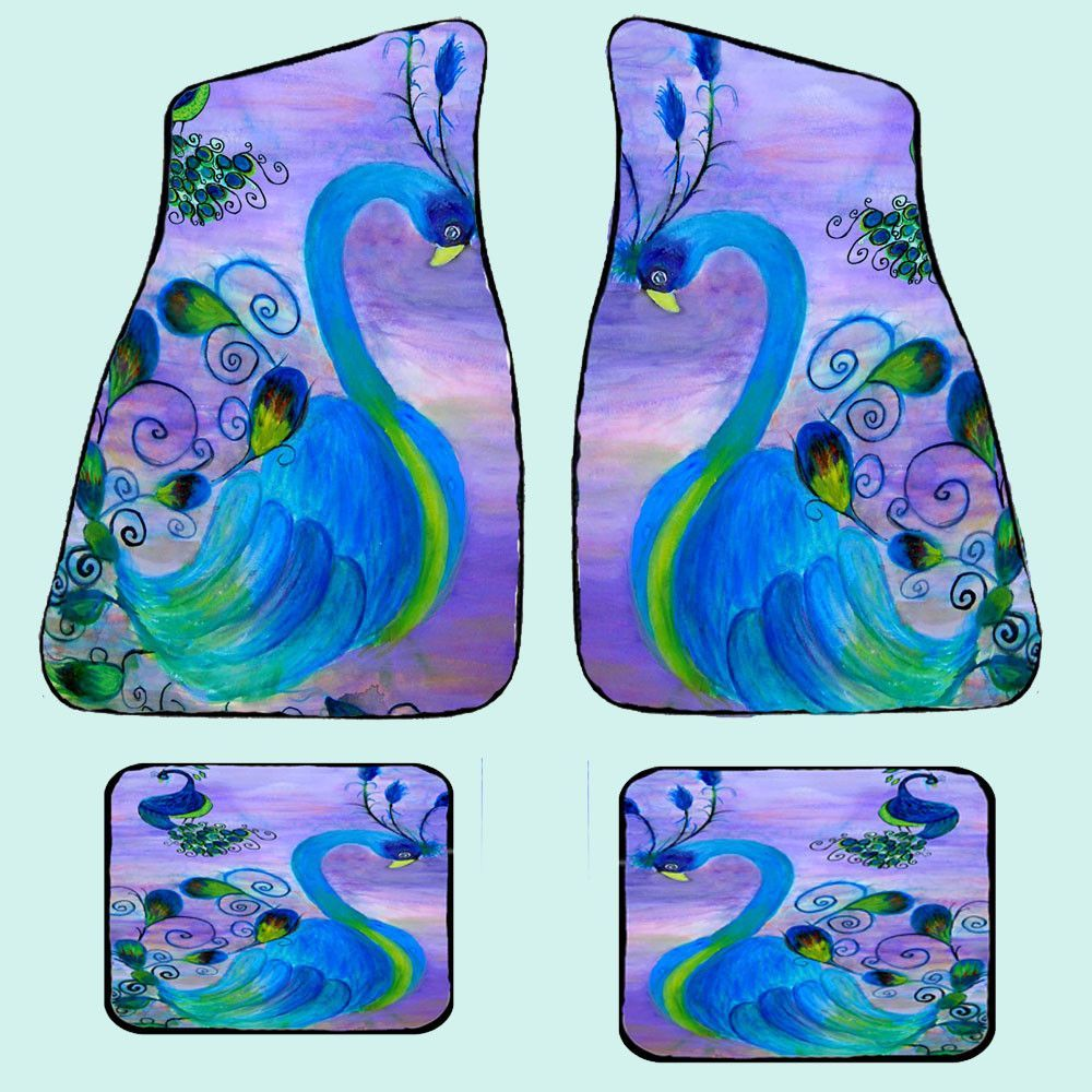 Floor mats dream cars - Peacock Car Floor Mats