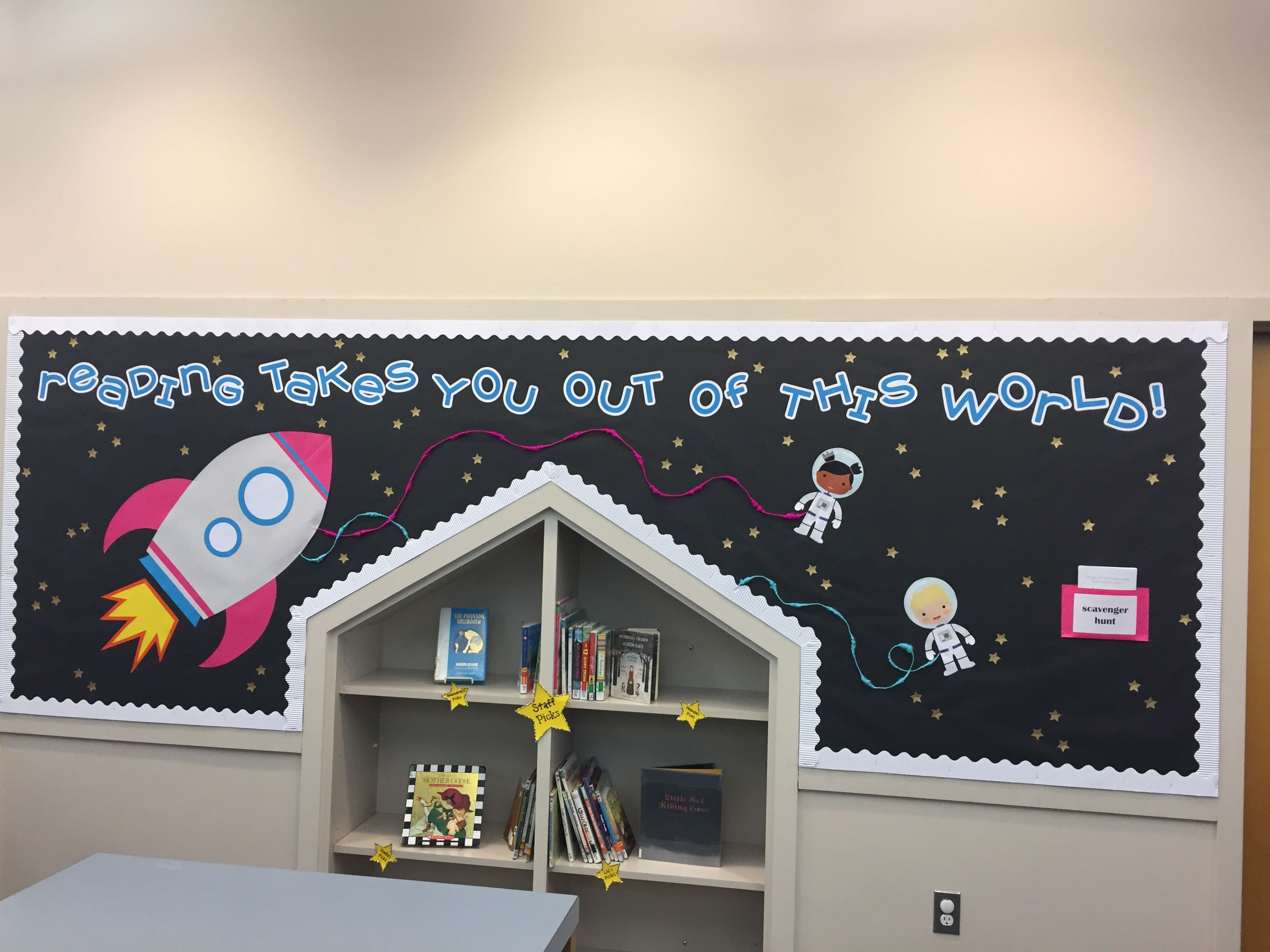 Out of This World Bulletin Board