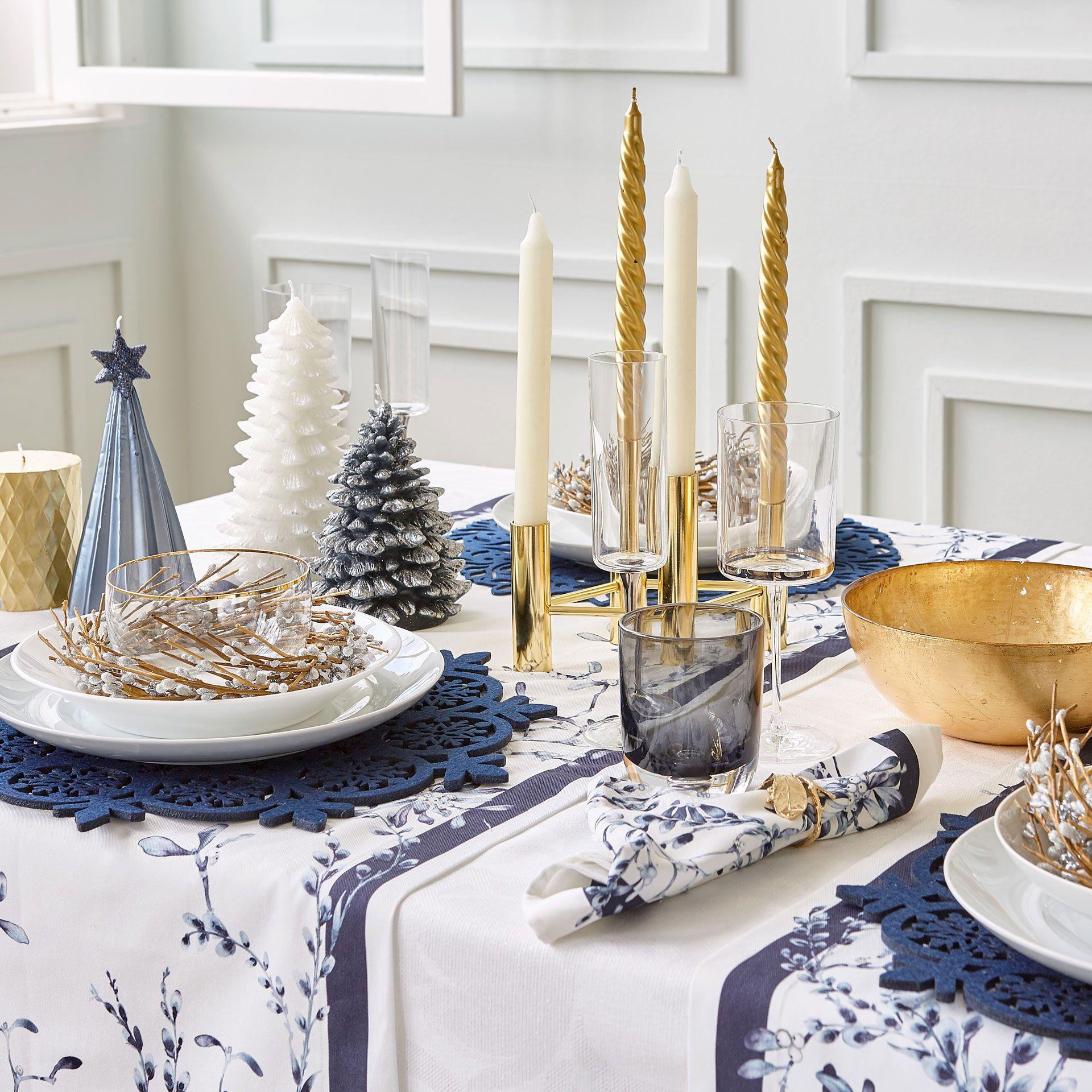Mesas de Navidad 2018 - Tips de decoración | Mesa de navidad, Zara y ...