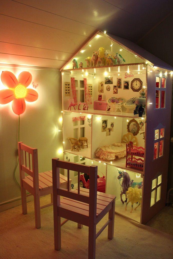 MammaLivet på Landet Bygga ett Barbiehus Dockhus själv Crafting& DIY Pinterest Barbiehus