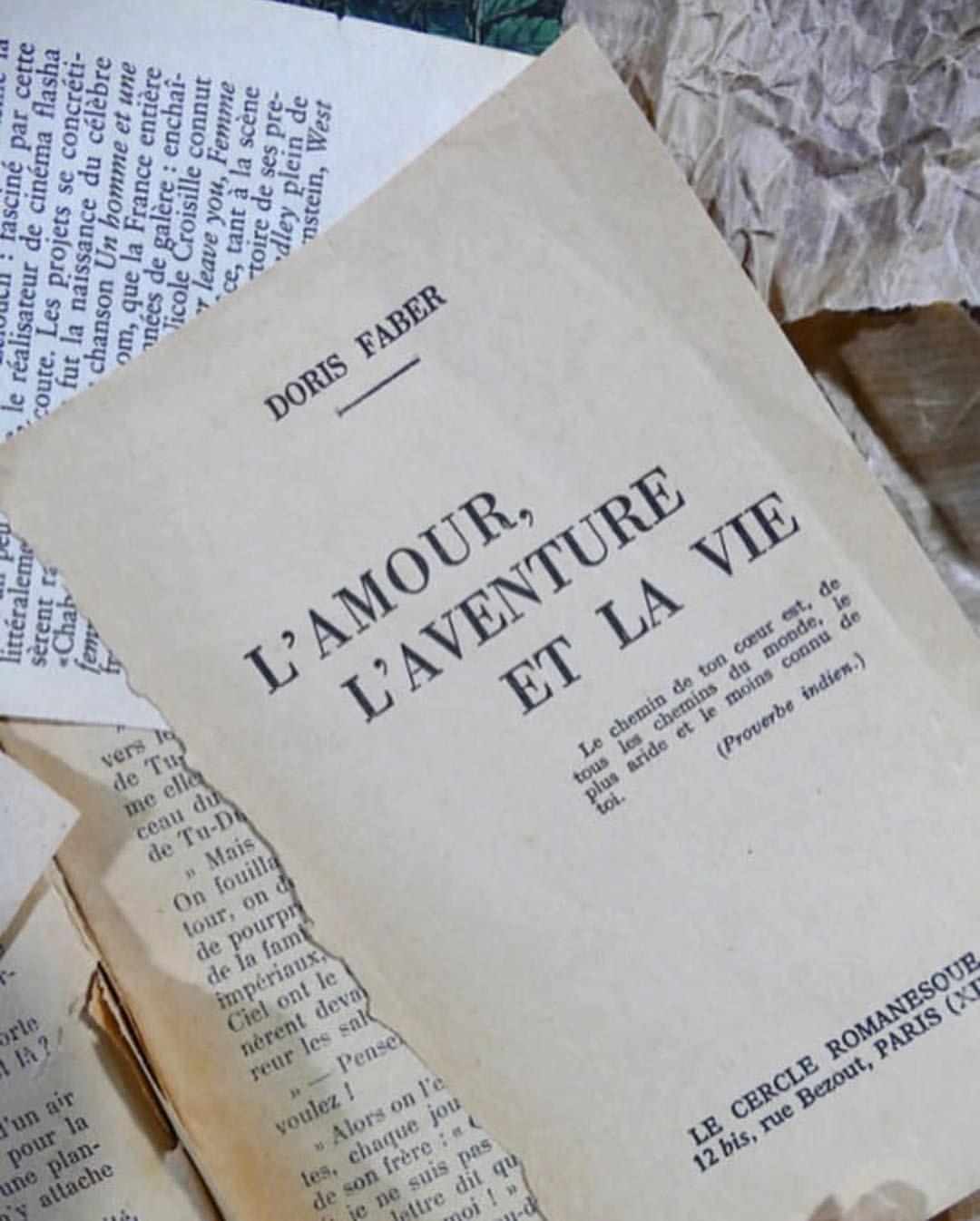 Lamour Laventure Et La Vie Libros De Arte Ilustración