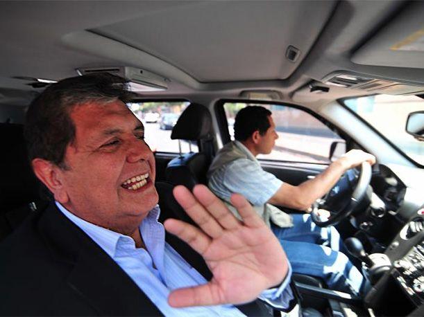 Alan García presentaba su plataforma digital para su candidatura presidencial con la Alianza Popular, cuando la pregunta de un periodista sobre el 5% de intención de voto que tiene en las encuestas lo incomodó. Esta fue su reacción.