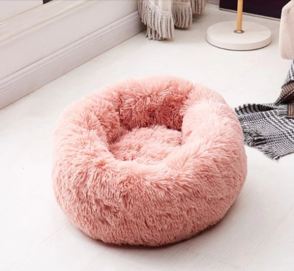 Stress Relief Dog Bed Free Just Pay Shipping Soft Dog Beds Plush Pet Bed Dog Pet Beds
