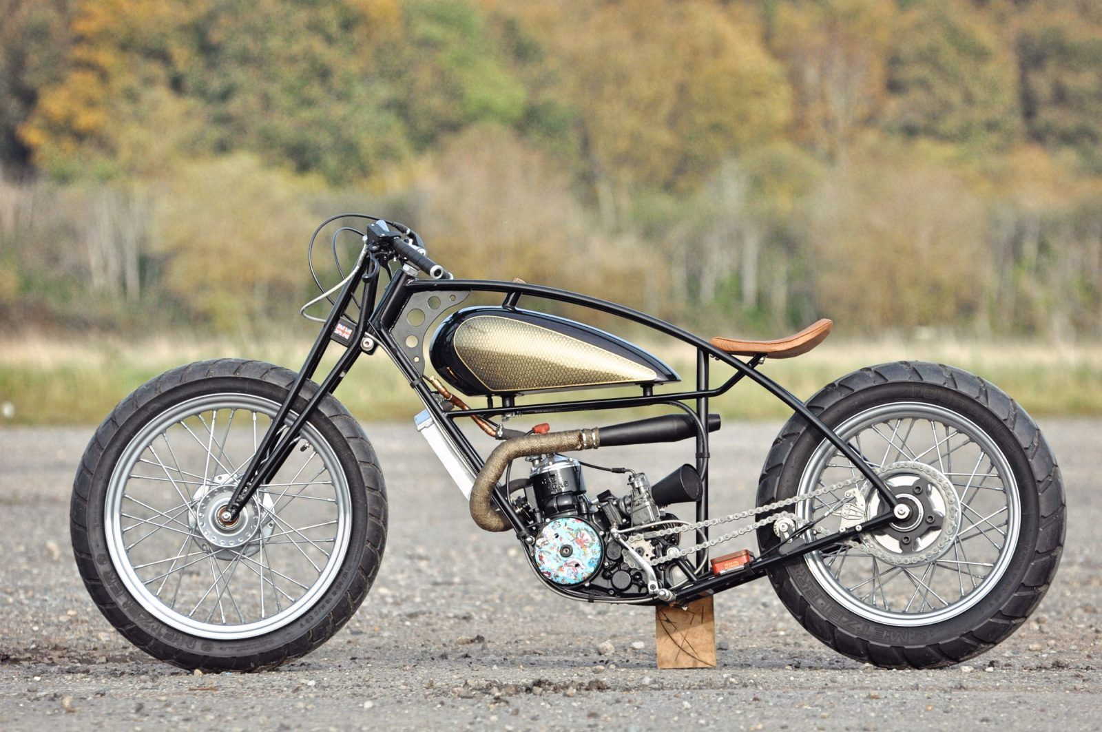 Valespeed Motorcycles 28 Days Later Custom Gasgas Motorcycle