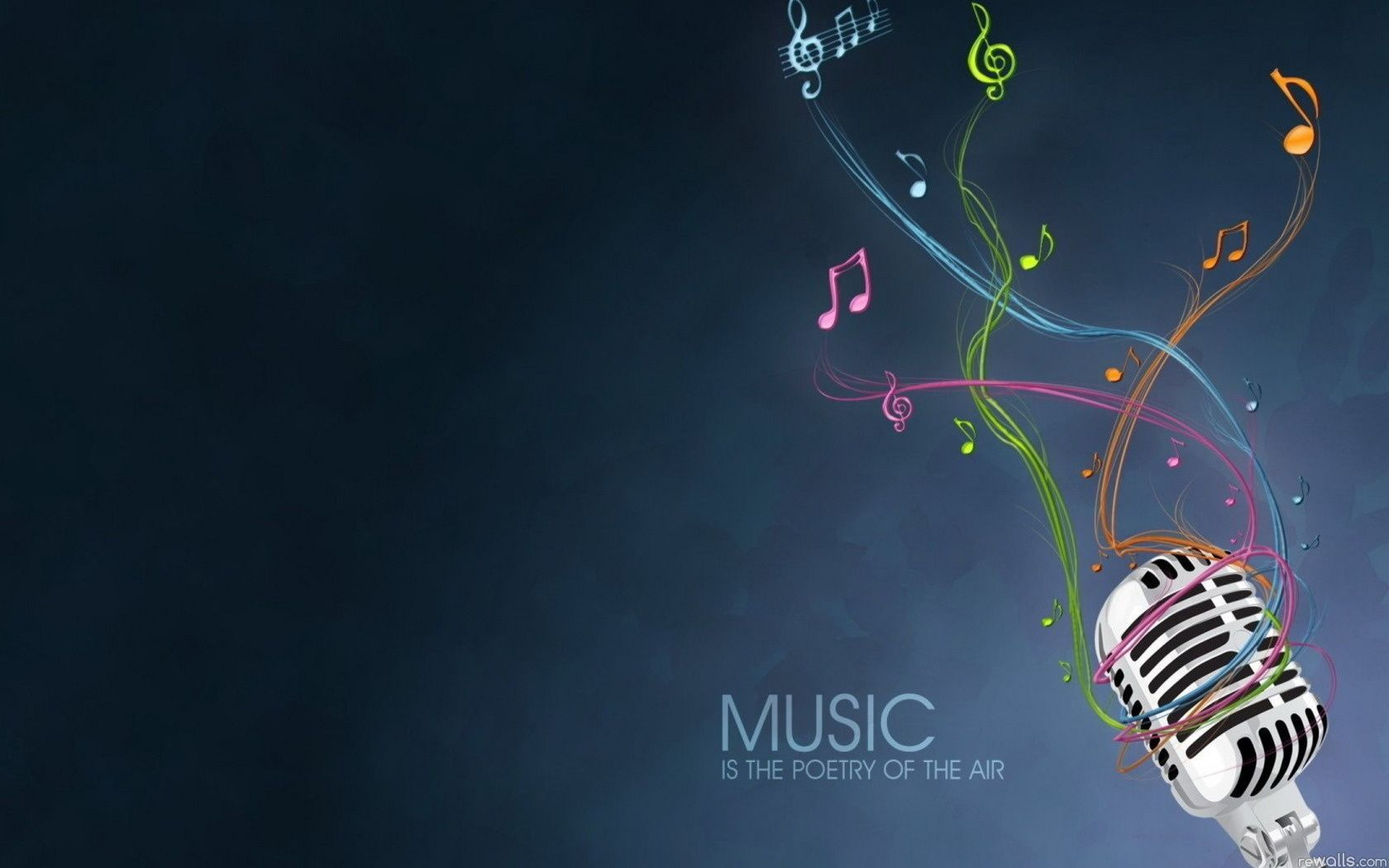 Music Poetry Of Air Hd Desktop Wallpaper