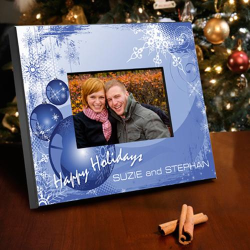 Merry Christmas Frame - Blue Christmas Products Pinterest