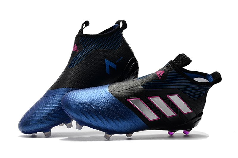 pick up 2ed56 cc503 ... фиолетовый Růžový adidas ACE 17+ Purecontrol FG - Core Black White Blue  ...
