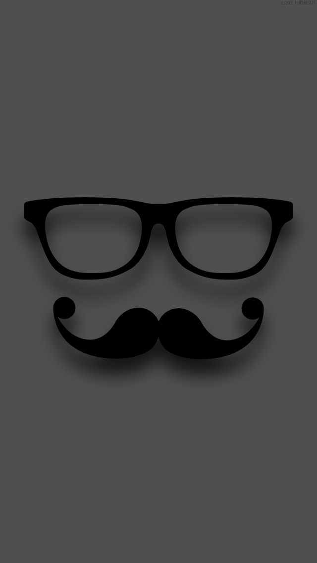 Mustache iPhone wallpaper | Wallpapers | Pinterest ...