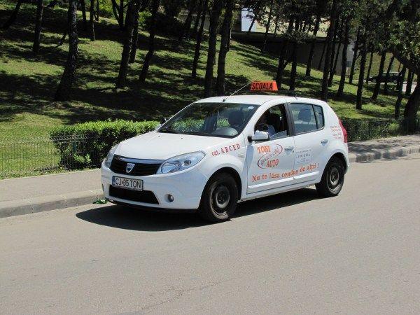 Instructor auto Cluj-Napoca Toni Auto Tel 0735921118
