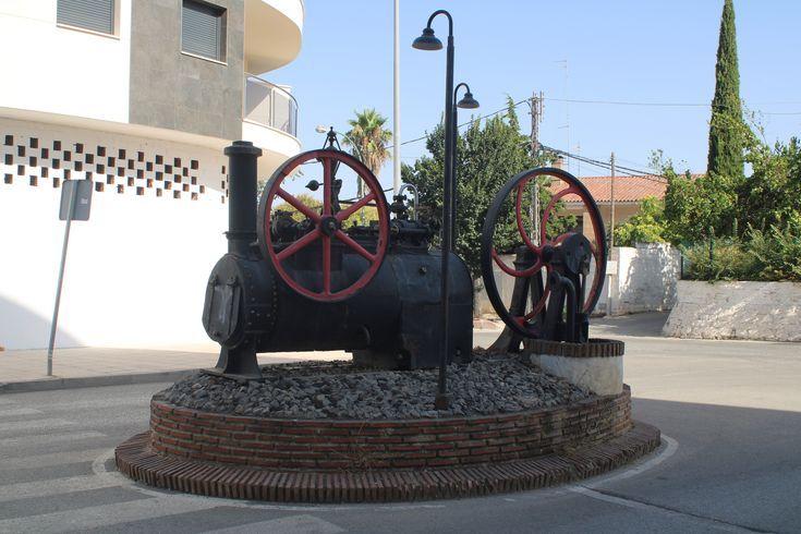 máquina de vapor en Martos