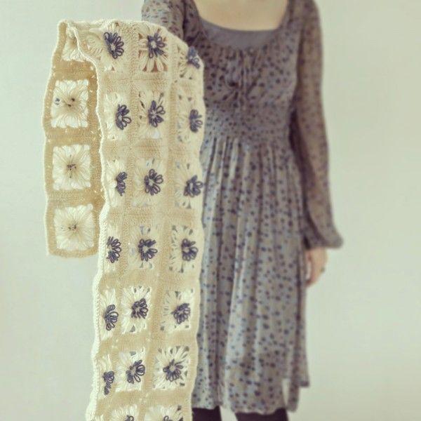 crochet loom flower free pattern