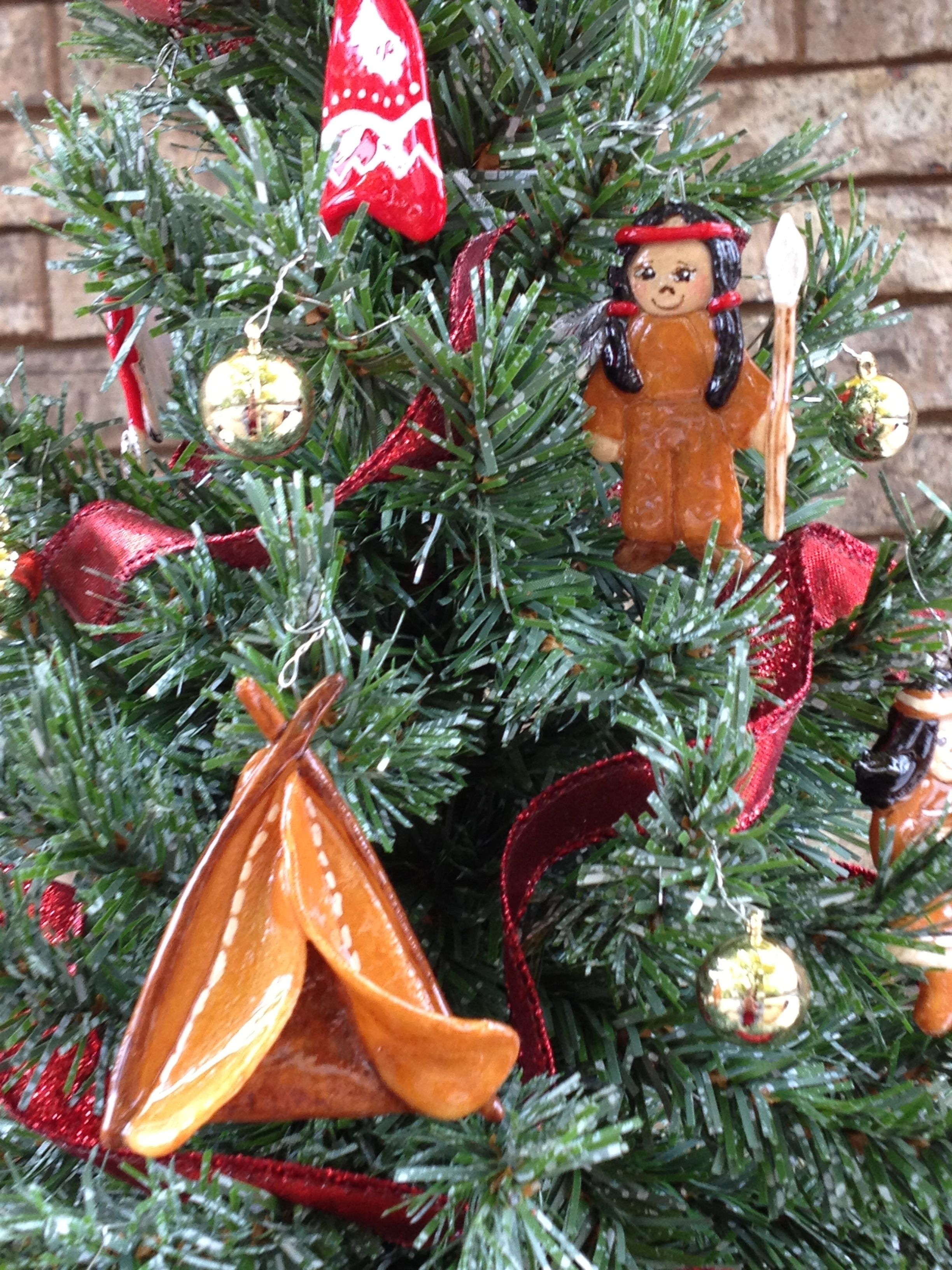 Small Native American Indian Christmas Tree Diy Christmas Ornaments Christmas Ornaments Christmas Ornaments Homemade