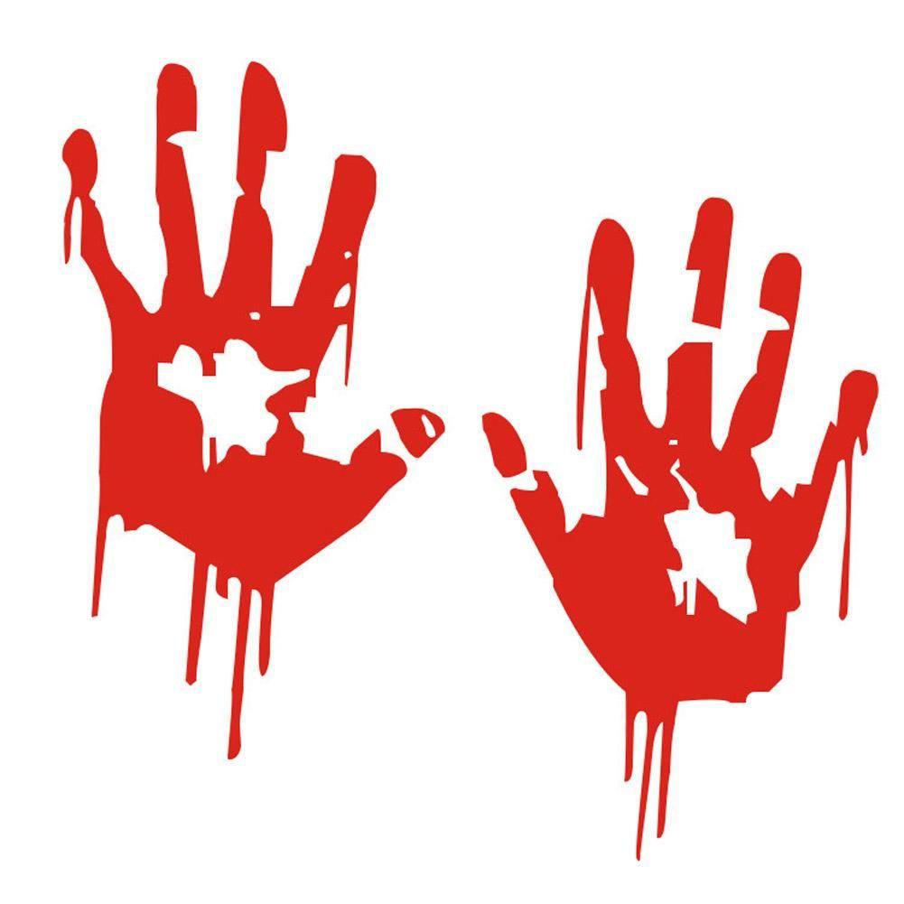 Zombie Vinyl Car Sticker | Halloween crafts/decorations
