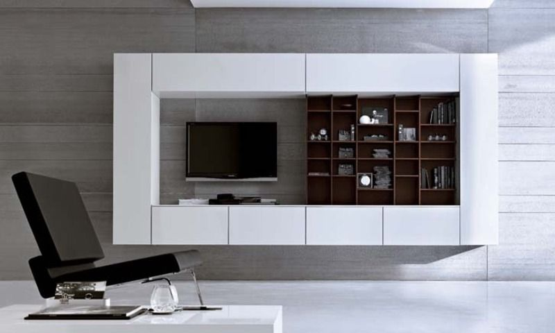 wall mounted tv unit designs - google search | concepts for 1bhk