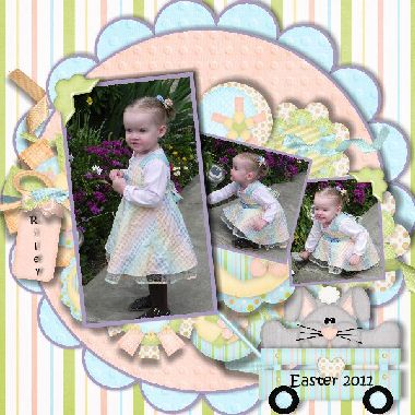 Thought this would be cute for Andi's 1st easter