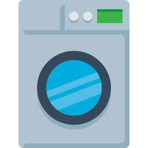Washing Machine Free Vector Icons Designed By Smashicons Vector Icon Design Machine Logo Icon Design