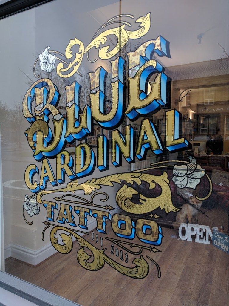 Gallery image sign writing tattoo signs