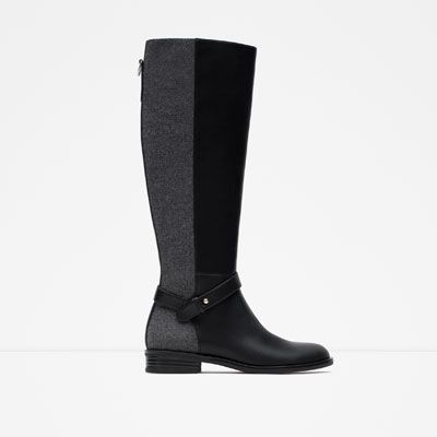 zara woman combined office. NWT Zara Combined Boots Brand New. With Tag. Very Willing To Negotiate. I Have It Boxed In It\u0027s Original Packaging And Is Ready Be Shipped For The Buyer! Woman Office N