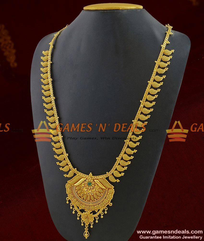 Queen Of Necklace Traditional Maango Haaram Net Design Imitation Jewelry Jewelry Stylish Jewelry Imitation Jewelry