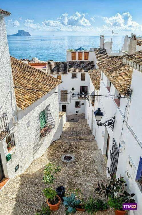 Altea alicante espa a imagenes pinterest spain for Destinos turisticos espana