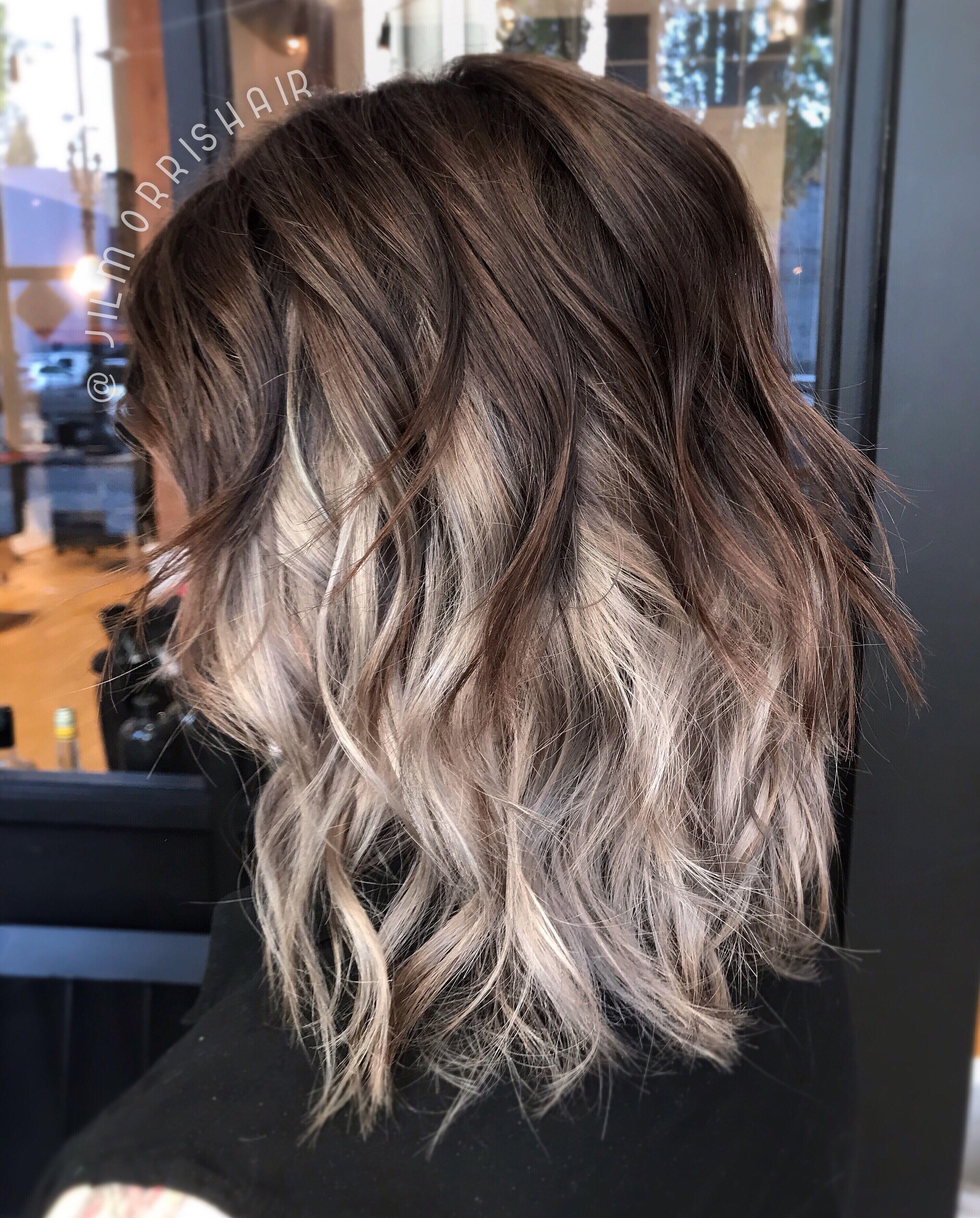 Spooky Grey Underlight Highlights Halloween Hair Warm Silver