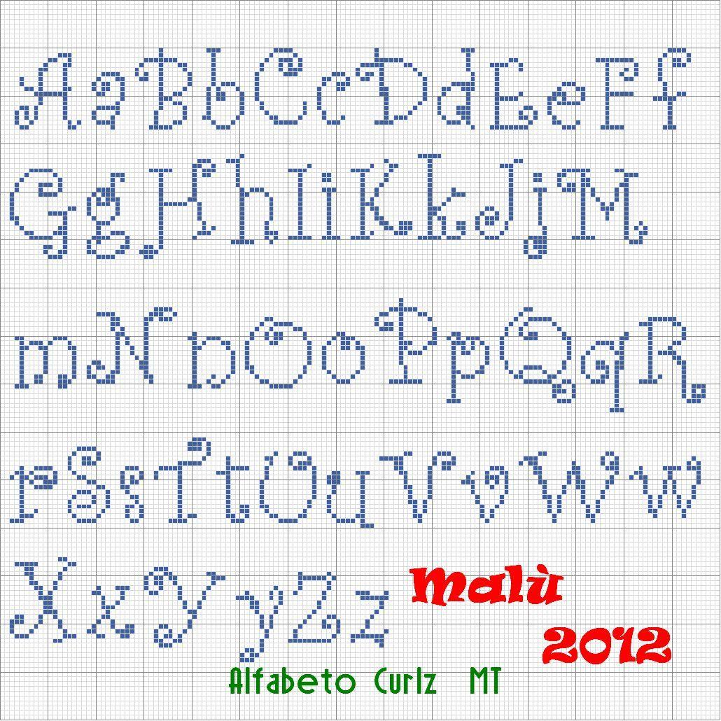 Alfabeto Curlz Mt Jpg 1030 1030 Com Imagens Monogramas Em