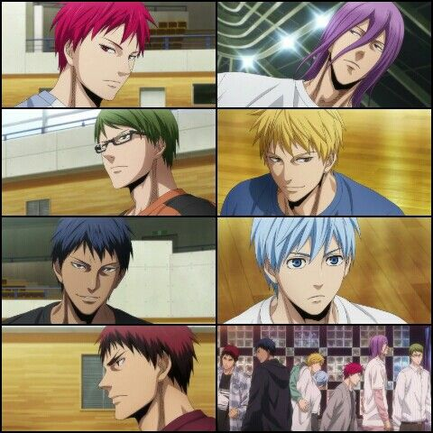 Kuroko No Basket Last Game Aomine Daiki Kagami Taiga Kise Ryota