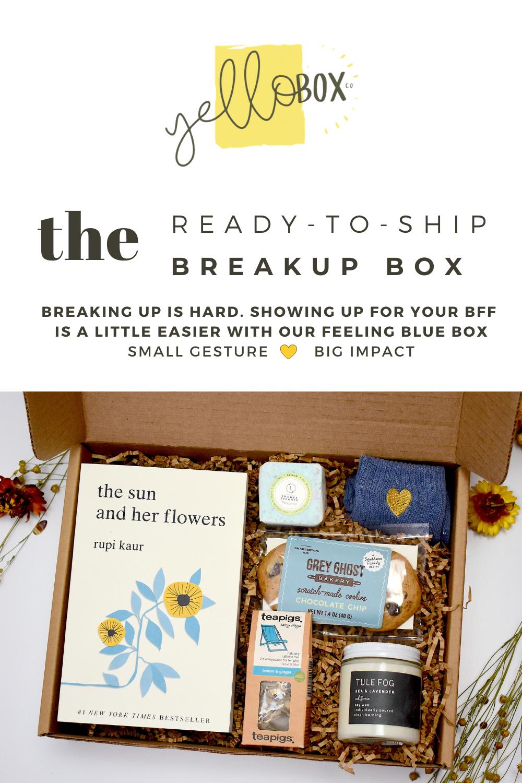 The Ready-To-ShIp Breakup Box | YELLOBOX CO