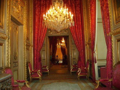 Royal Apartments at Richelieu,Louvre.