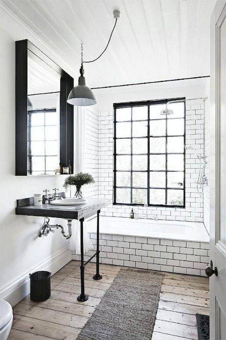 47 Awesome Farmhouse Bathroom Tile Floor Decor Ideas And Remodel