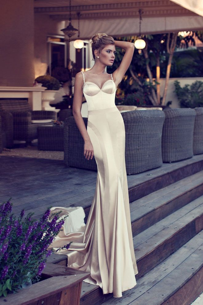 sleek #prom #dresses Amazing Evening Dress by Designer Nurit Hen ...