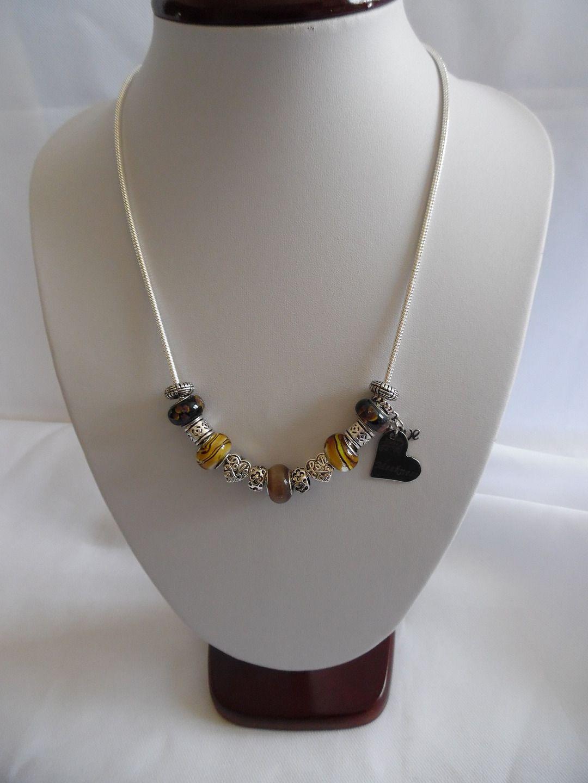 collier perle pandora. Black Bedroom Furniture Sets. Home Design Ideas