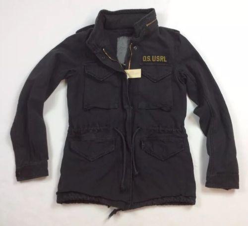 Details about Denim Supply Ralph Lauren Women Military USA