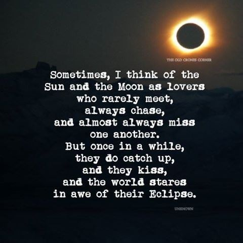 The Sun and the Moon