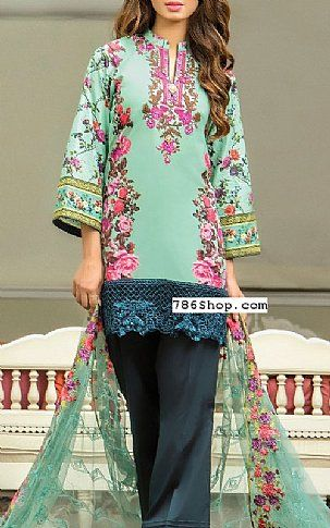 58612b8304 Sea Green Lawn Suit | Buy Kalyan Eid Collection Pakistani Dresses and  Clothing online in USA, UK