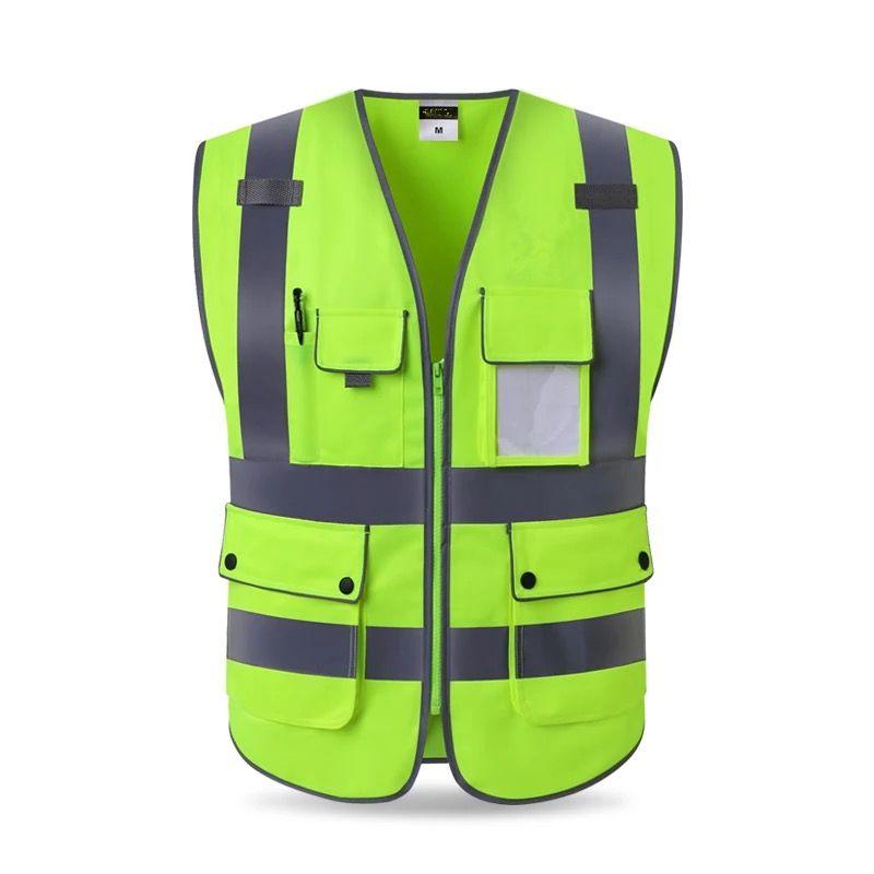 Venta de liquidación patrones de moda descuento hasta 60% Alta calidad de alta visibilidad chaleco reflectante ropa de ...