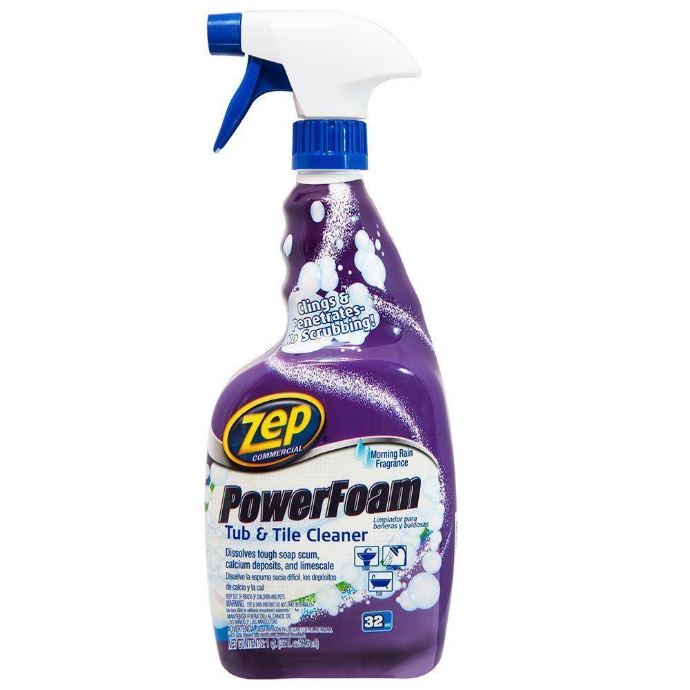 Zep 32 Oz Shower Tub And Tile Cleaner Case Of 4 Shower Tub